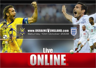 Image of Ukraine V England game. Copyright belongs to Kentaro