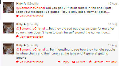 Screenshot of tweets from @Zodilfy